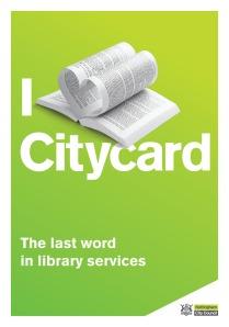 Libraries Postcard