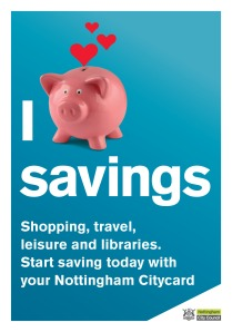 Savings Postcard