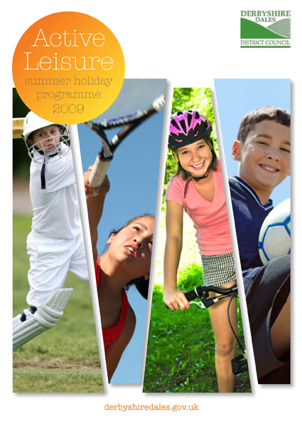 Summer Activities Booklet Front Cover