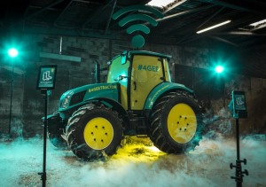 WIFI Tractor at Glastonbury